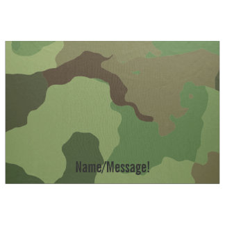 Traditional military camouflage fabric