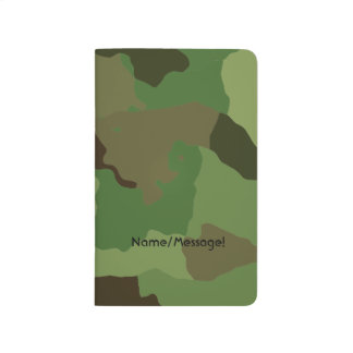 Traditional military camouflage journal