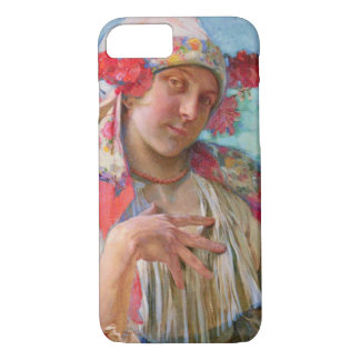 Traditional Moravian Fashion 1920 iPhone 7 Case