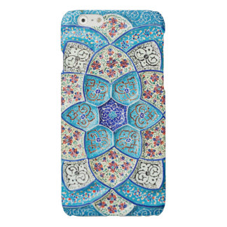 Traditional Moroccan turquoise Blue, white, salmon