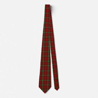 Traditional Morrison Tartan Plaid Tie