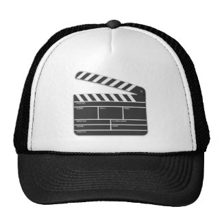 Traditional Movie Clapper-Board Mesh Hats
