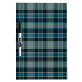 Traditional Plaid Dry-Erase Whiteboard