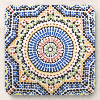 Traditional Portuguese Azulejo Tile Pattern Coaster