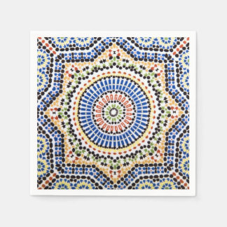 Traditional Portuguese Azulejo Tile Pattern Paper Serviettes