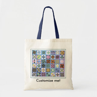 """""""Traditional Quilt #2"""" Tote Bag"""