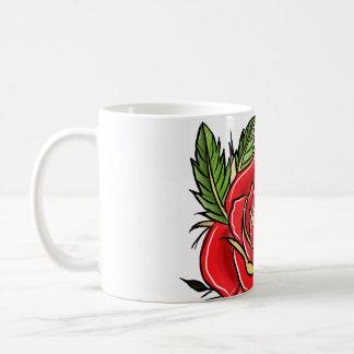 Traditional Rose Coffee Mug
