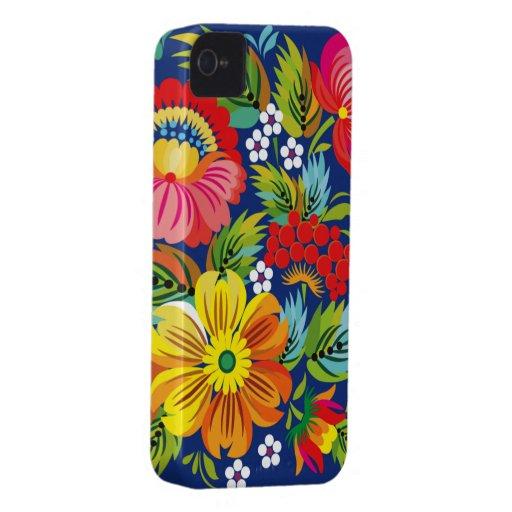 Traditional Russian Native Art Blackberry Case