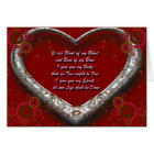 Traditional Scot Wedding Vow - Blood of my Blood Card