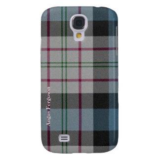 Traditional Scottish Ferguson Tartan Plaid Custom Galaxy S4 Cases