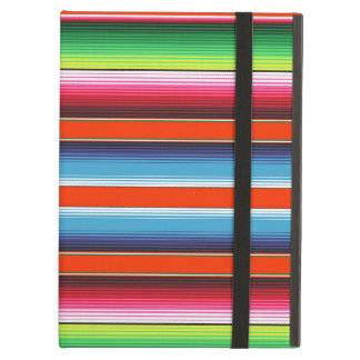 Traditional Spanish Serape Fiesta Mexican Blanket Case For iPad Air