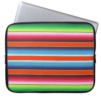 Traditional Spanish Serape Fiesta Mexican Blanket Laptop Sleeve