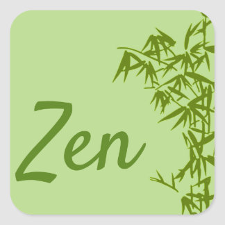 Traditional Sticker Zen
