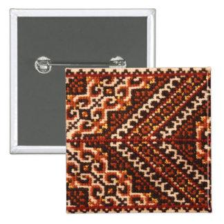 Traditional Ukrainian Design 15 Cm Square Badge