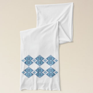 Traditional Ukrainian embroidery pattern Scarf