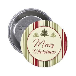 Traditional Vintage Christmas Button