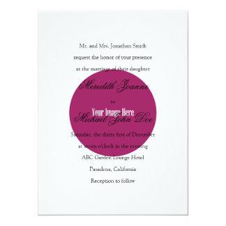 Traditional Wording 14 Cm X 19 Cm Invitation Card