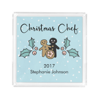 Traditions of Christmas | Holiday Dinner Acrylic Tray