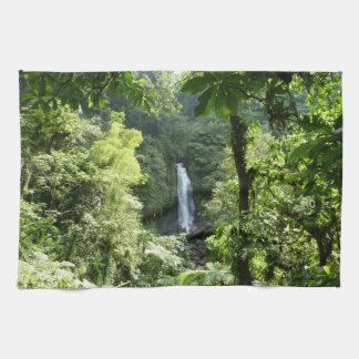 Trafalgar Falls Tropical Rainforest Photography Tea Towel