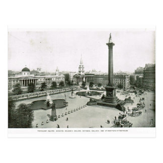 Trafalgar Square 1900 Postcard