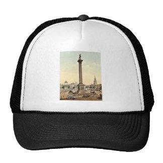 Trafalgar Square and National Gallery, London, Eng Hat