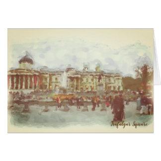 Trafalgar square Card