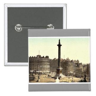 Trafalgar Square from National Gallery London E Pins