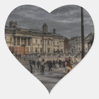 Trafalgar Square Heart Sticker