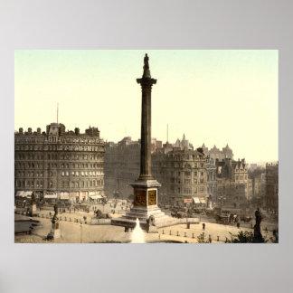 Trafalgar Square I, London, England Print