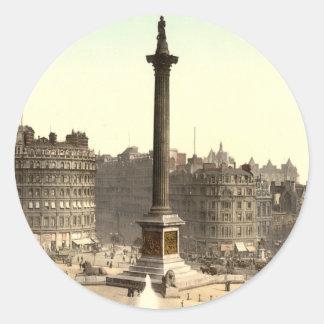 Trafalgar Square I, London, England Stickers