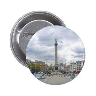 Trafalgar Square in London Buttons