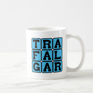 Trafalgar, Square in London Coffee Mug