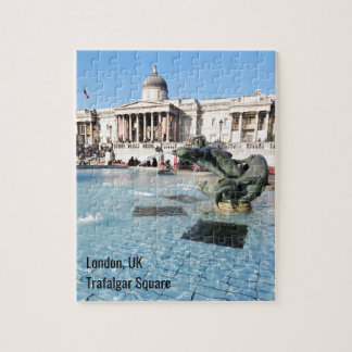 Trafalgar Square in London, UK Jigsaw Puzzle