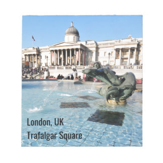 Trafalgar Square in London, UK Notepad