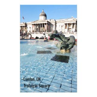 Trafalgar Square in London, UK Stationery