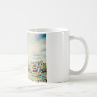 Trafalgar Square in London vintage Coffee Mugs