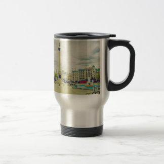 Trafalgar Square in London vintage Mug