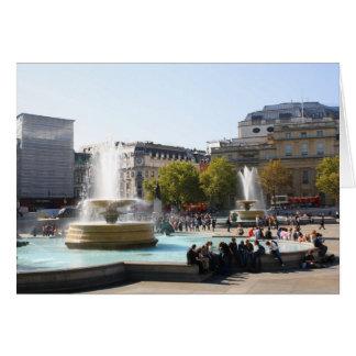 trafalgar Square, London Greeting Cards