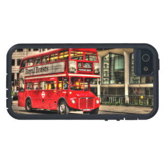 Trafalgar Square London Double Decker Bus iPhone 5 Cases