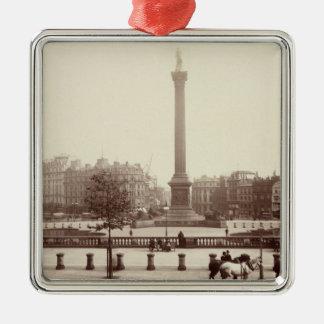 Trafalgar Square, London (sepia photo) Ornaments