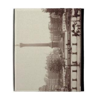 Trafalgar Square, London (sepia photo) iPad Case