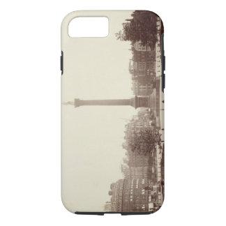 Trafalgar Square, London (sepia photo) iPhone 7 Case