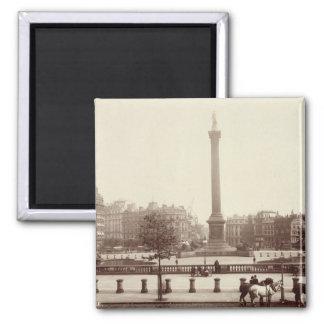 Trafalgar Square, London (sepia photo) Magnets