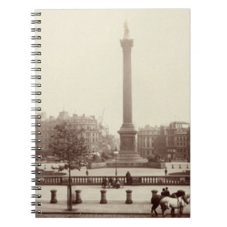 Trafalgar Square, London (sepia photo) Note Book
