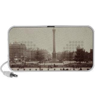 Trafalgar Square, London (sepia photo) Travel Speaker
