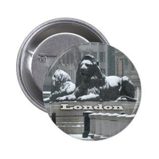 Trafalgar Square London - Snow Pins