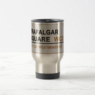 Trafalgar Square London - Vintage sign Coffee Mug