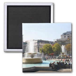 Trafalgar Square Square Magnet