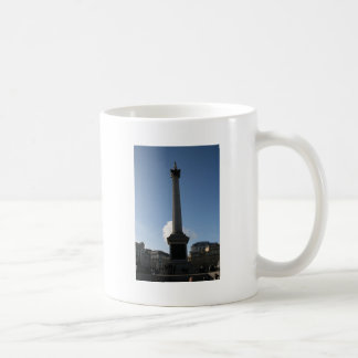 Trafalgar Square Monument Basic White Mug