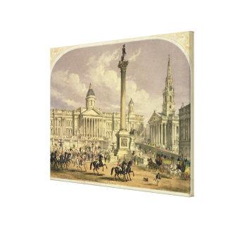 Trafalgar Square, published by Dickinson Canvas Print